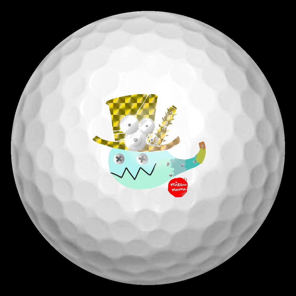 おばけちゃんのゴルフボール ゴルフボール(3個セット)