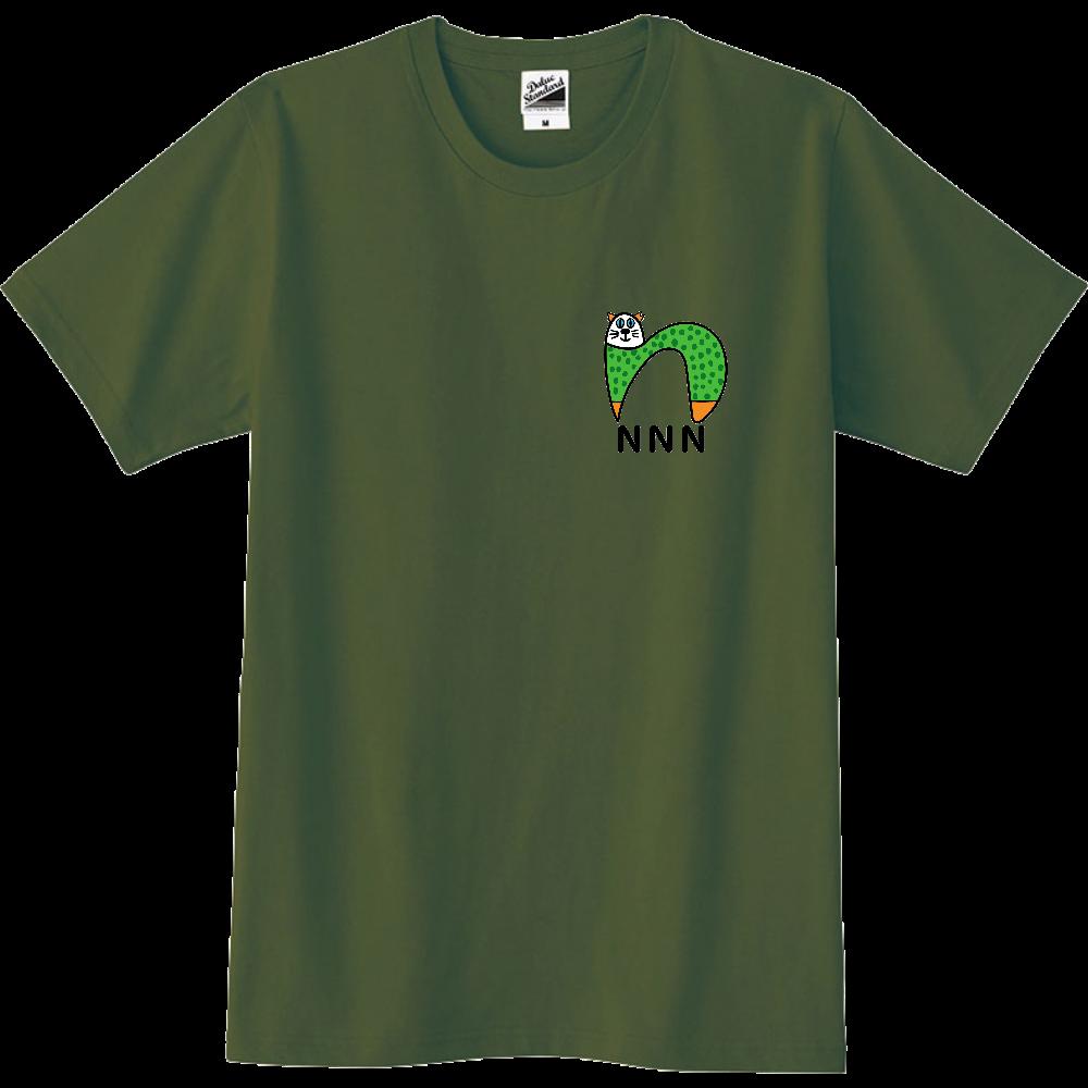 NNN  地域猫活動支援 Tシャツ 120〜 POLLYさん作 スリムTシャツ