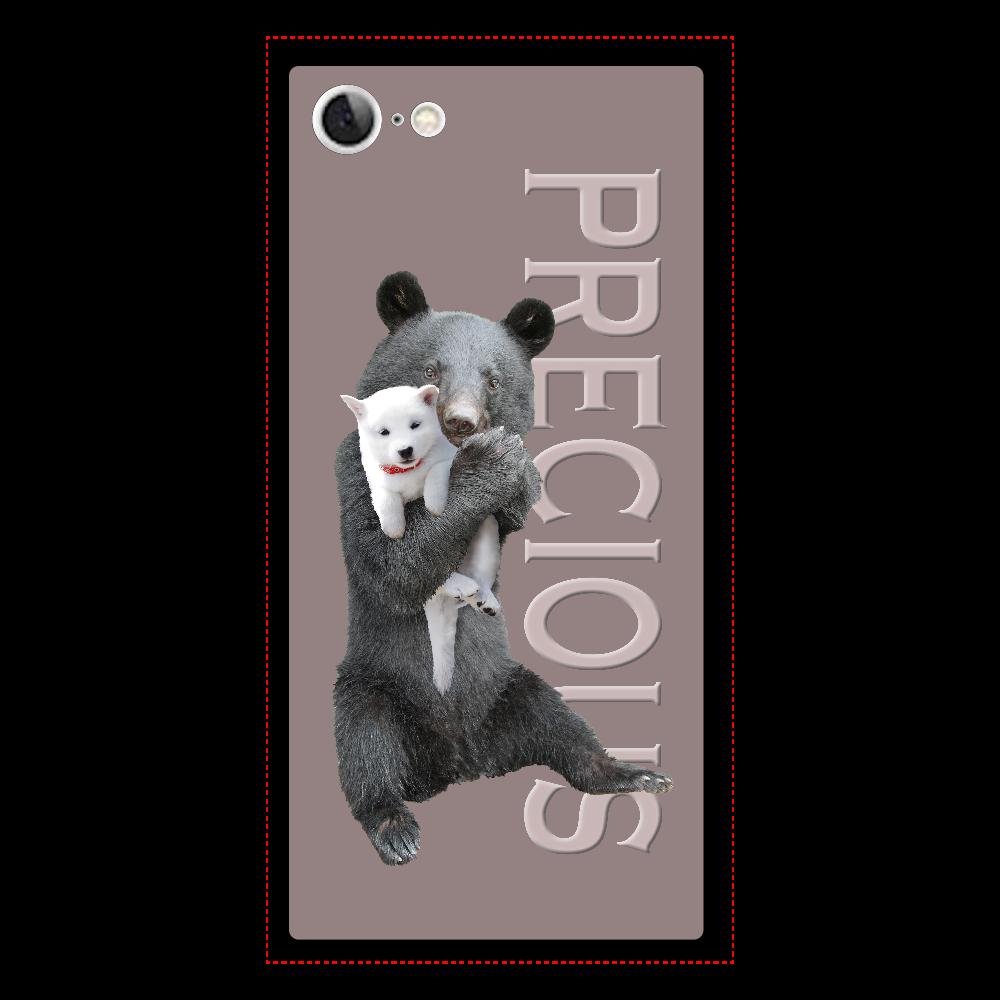 iPhone7 背面強化ガラス(スクエア)ケース iPhone7 背面強化ガラス(スクエア)