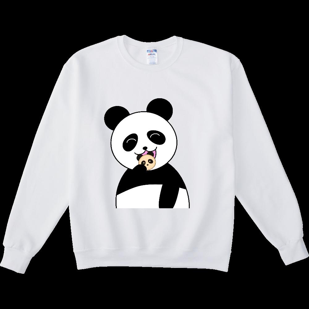 パンダパンを食べるパンダ NUBLENDスウェットシャツ
