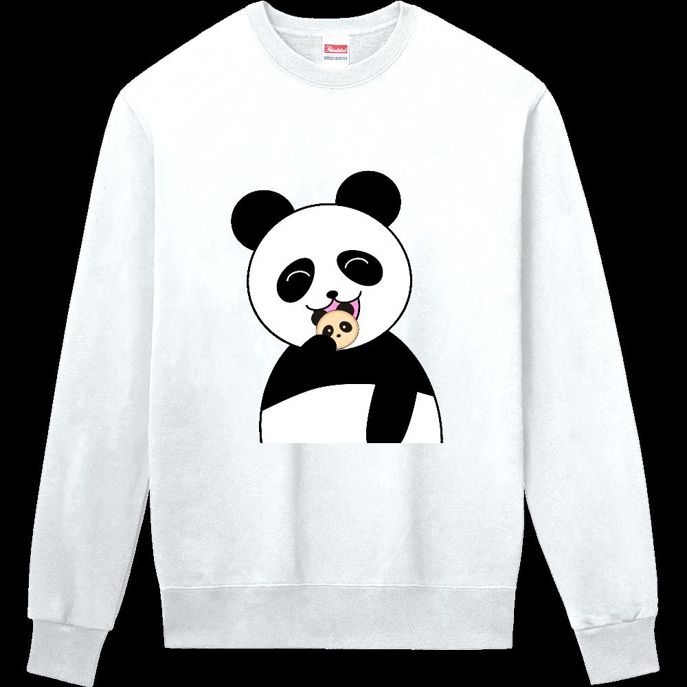 パンダパンを食べるパンダ 定番スウェット