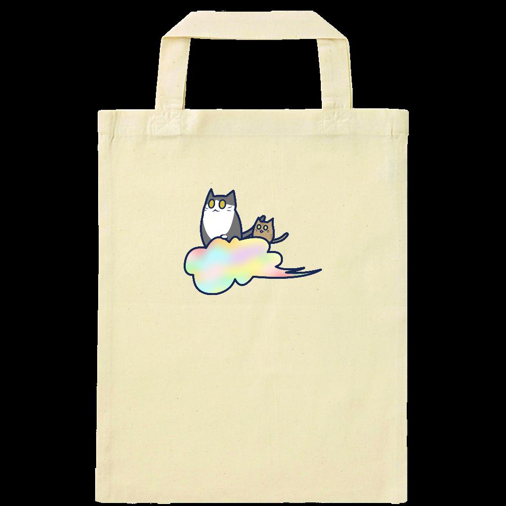 五色の雲と二匹の猫 ナチュラルファイルバッグ ナチュラルファイルバッグ
