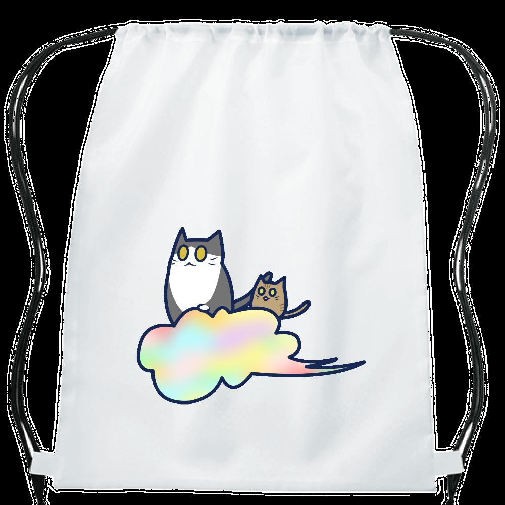 五色の雲と二匹の猫 イベントリュック イベントリュック
