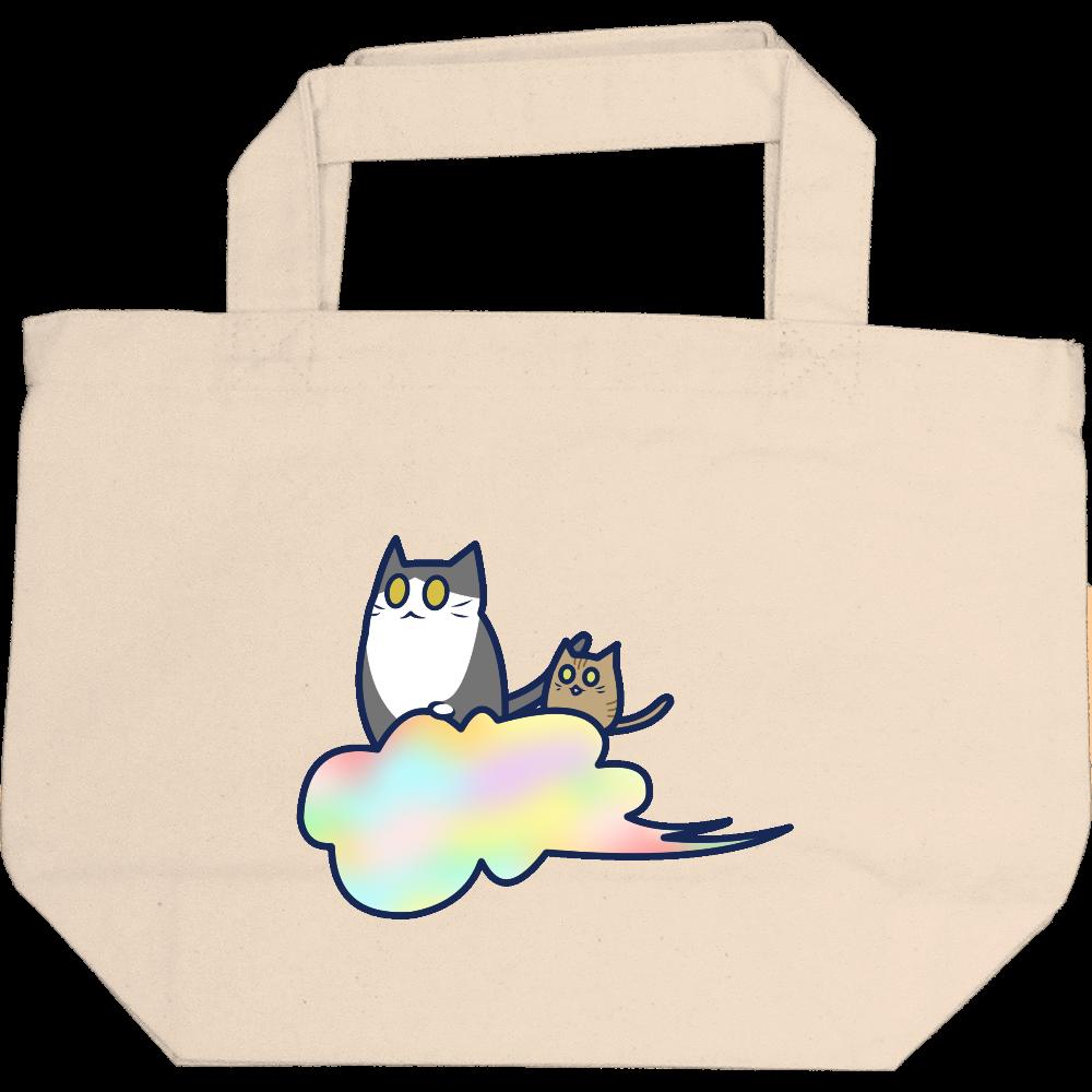 五色の雲と二匹の猫 即日トート S 即日トート S