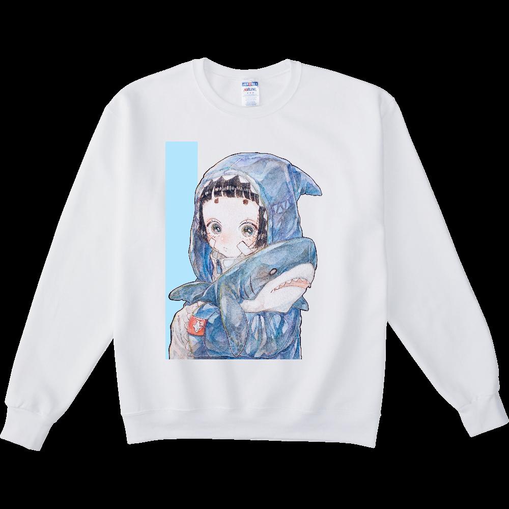 ぴちぴちさめちゃんスウェット NUBLENDスウェットシャツ
