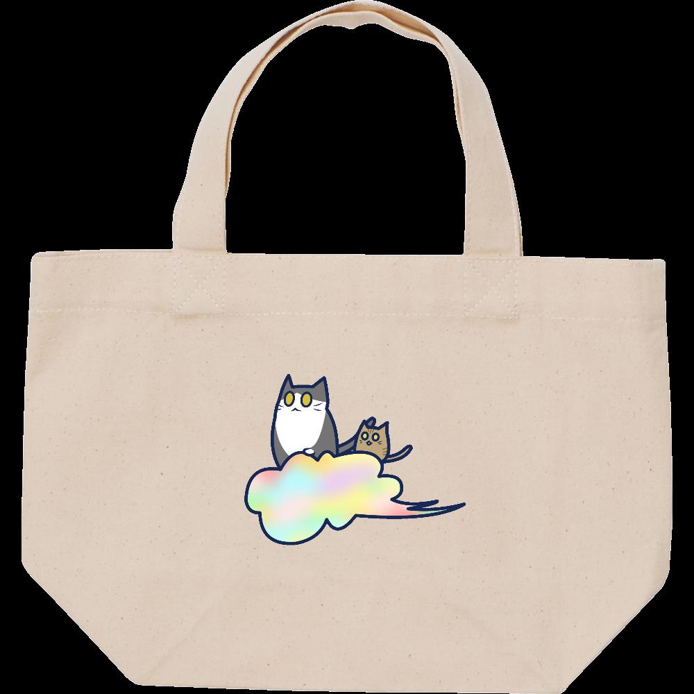 五色の雲と二匹の猫 スタンダードキャンバストートバッグ(S) スタンダードキャンバストートバッグ(S)