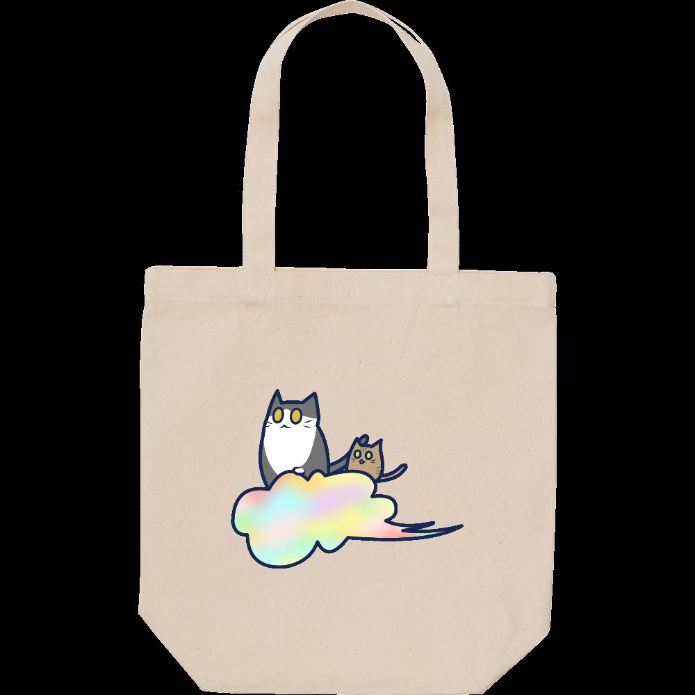 五色の雲と二匹の猫 スタンダードキャンバストートバッグ(M) スタンダードキャンバストートバッグ(M)