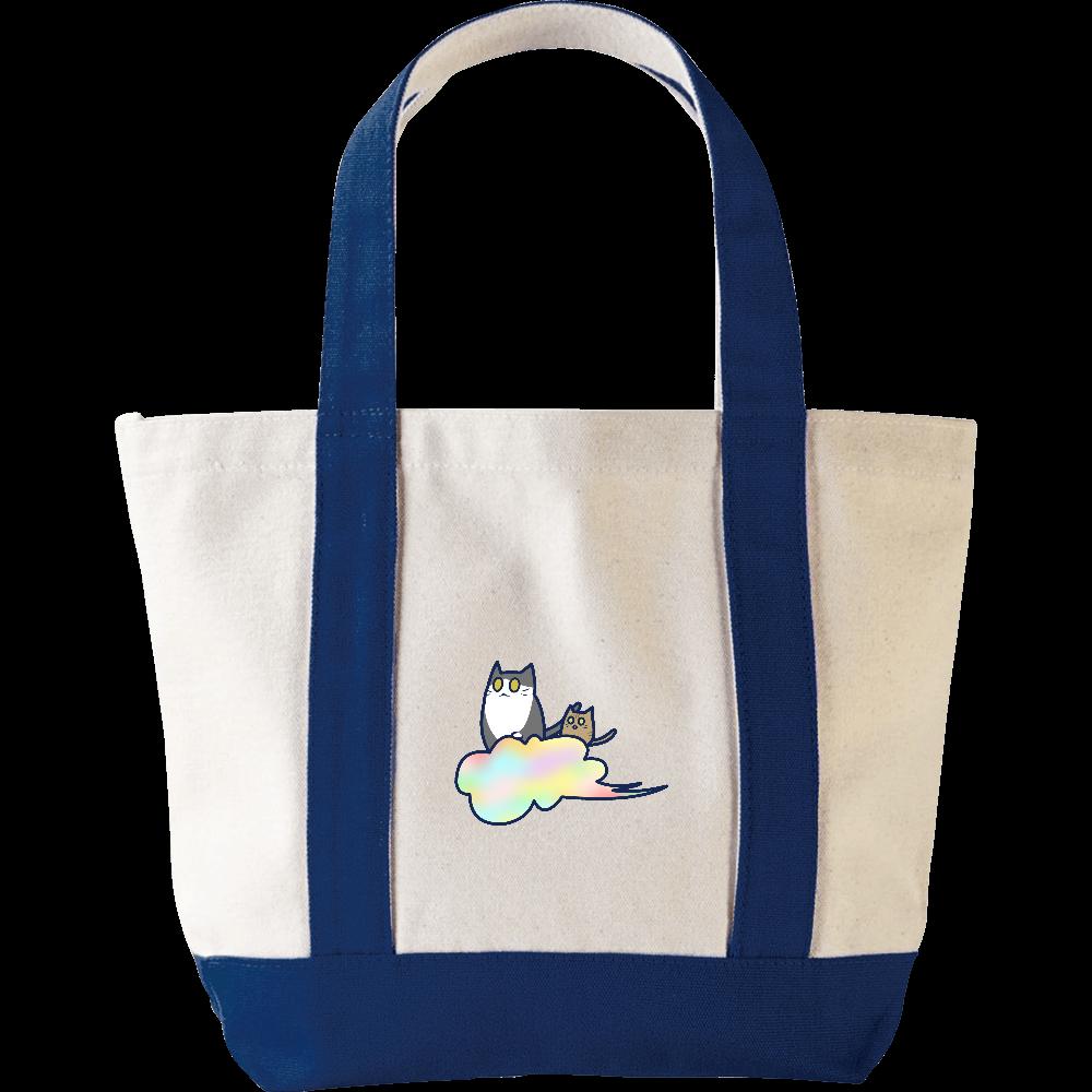五色の雲と二匹の猫 ミニヘビートートバッグ ミニヘビートートバッグ