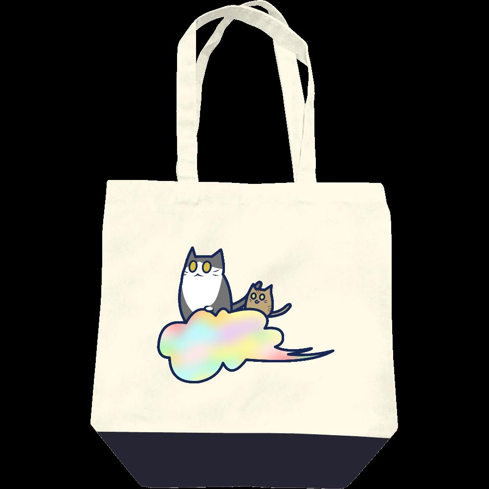 五色の雲と二匹の猫 レギュラーキャンバストートバッグ(M) レギュラーキャンバストートバッグ(M)