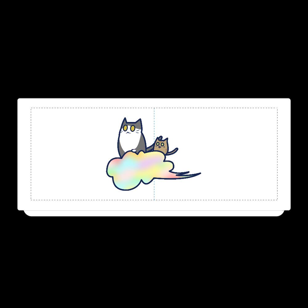 五色の雲と二匹の猫 湯のみ(M) 湯のみ(M)
