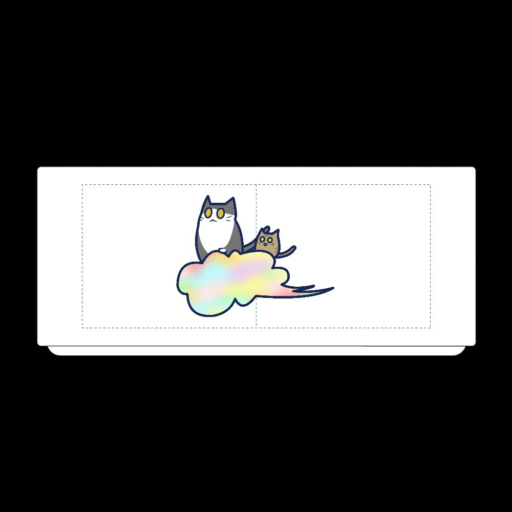 五色の雲と二匹の猫 湯のみ(S) 湯のみ(S)