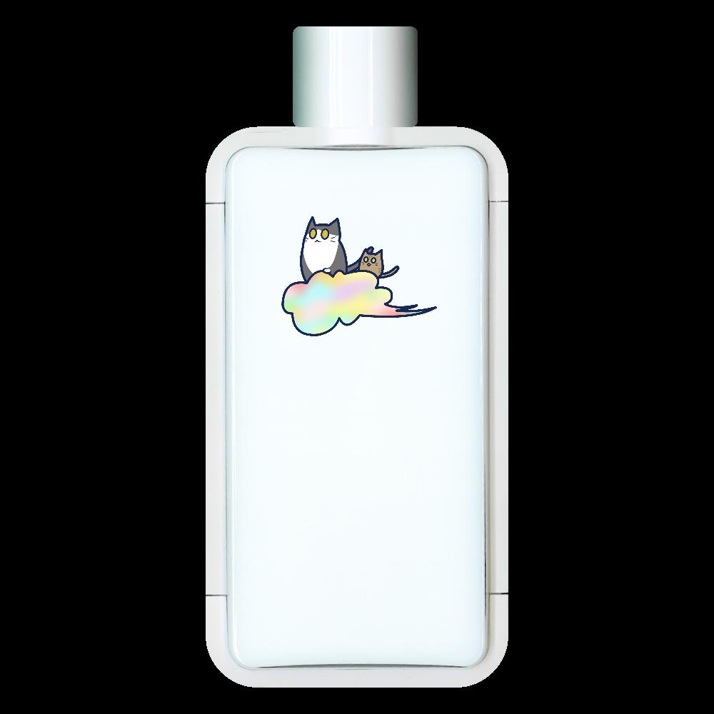 五色の雲と二匹の猫 フレームスクエアボトル フレームスクエアボトル