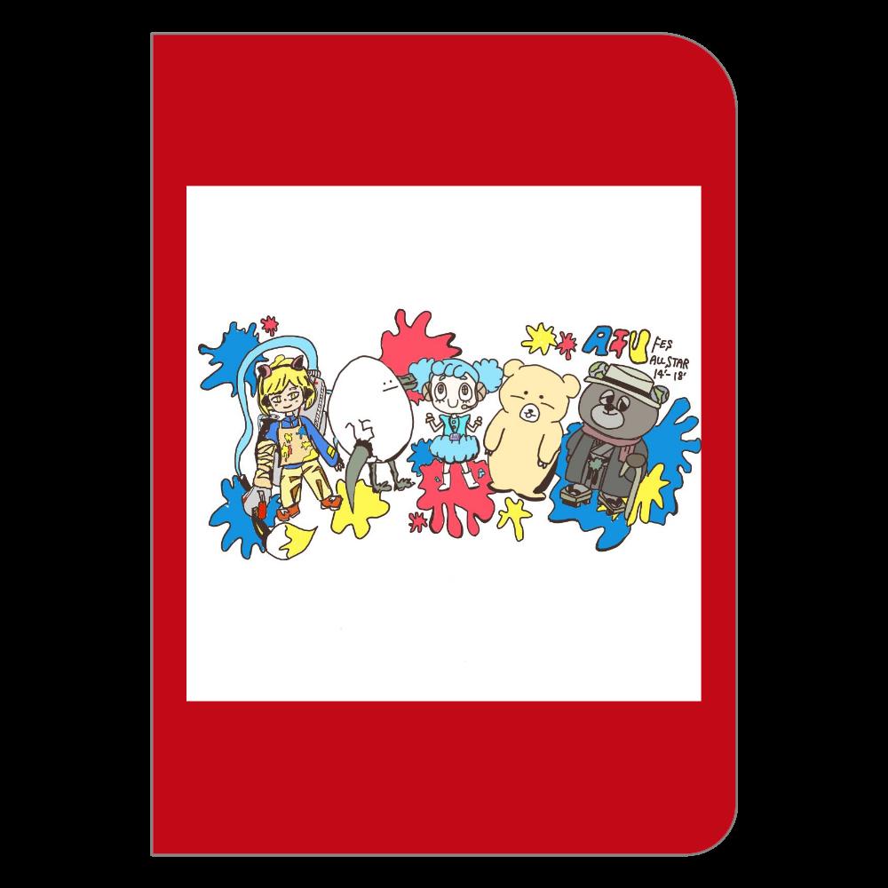 【AIUfes ALL STAR 14th-18th】ハードカバーポケットノート ハードカバーポケットノート