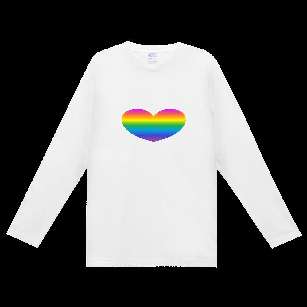 Rainbow ヘビーウェイト長袖Tシャツ
