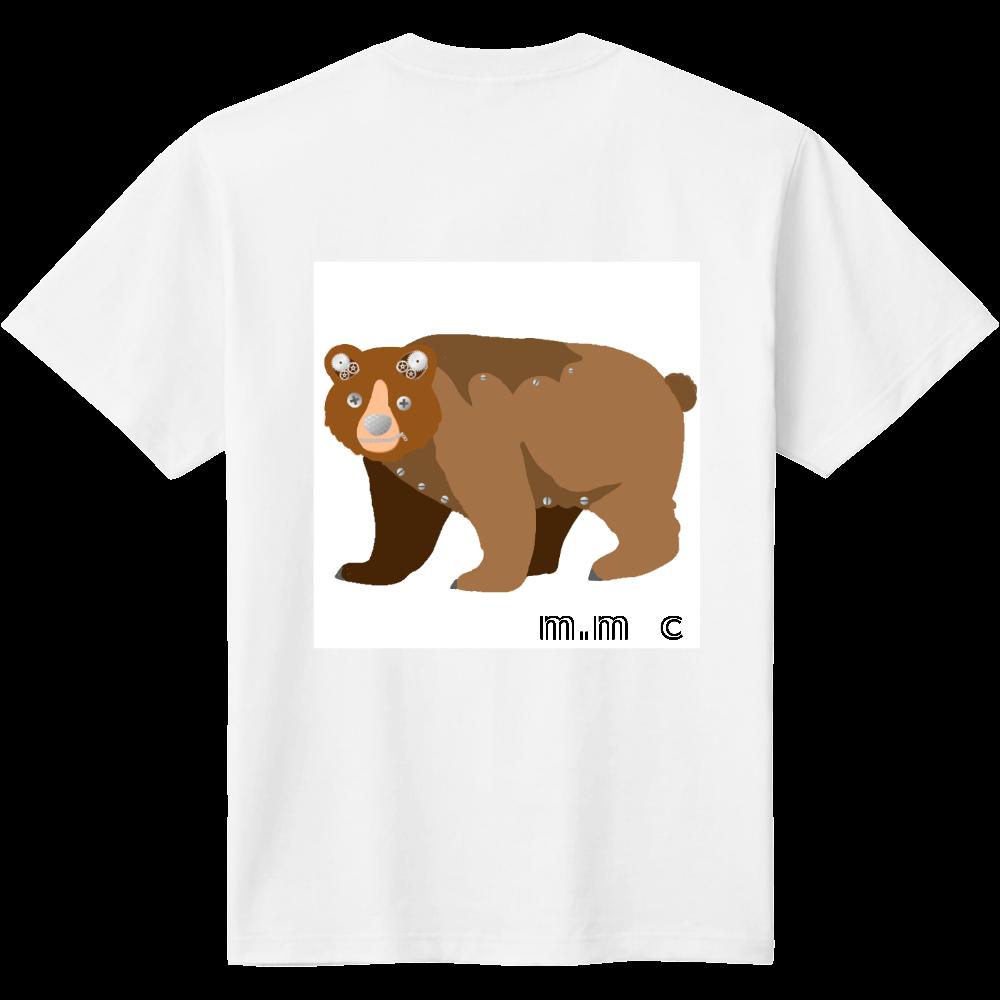 くま柄デザイン 定番Tシャツ