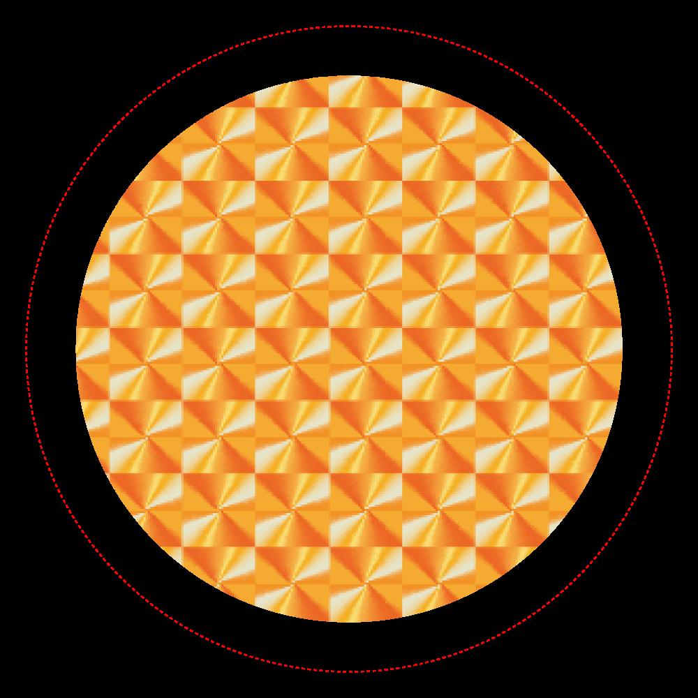「竜巻」という名の気候変動 ORILAB MARKET.Version.8 ホログラムオリジナル缶バッジ(44mm)