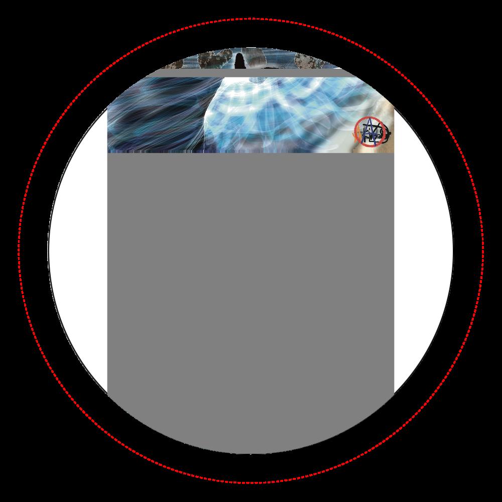 「竜巻」という名の気候変動 ORILAB MARKET.Version.8 オリジナル缶バッジ白背景(56mm)