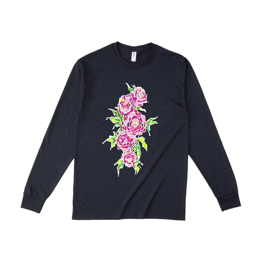 追憶の中で咲く ジャージーズDRI-POWERロングスリーブシャツ