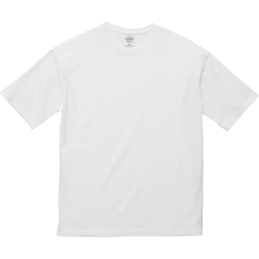 ソラと雲 5.6オンス ビッグシルエット Tシャツ