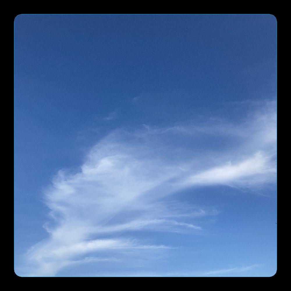 ソラと雲 アクリルコースター(四角)