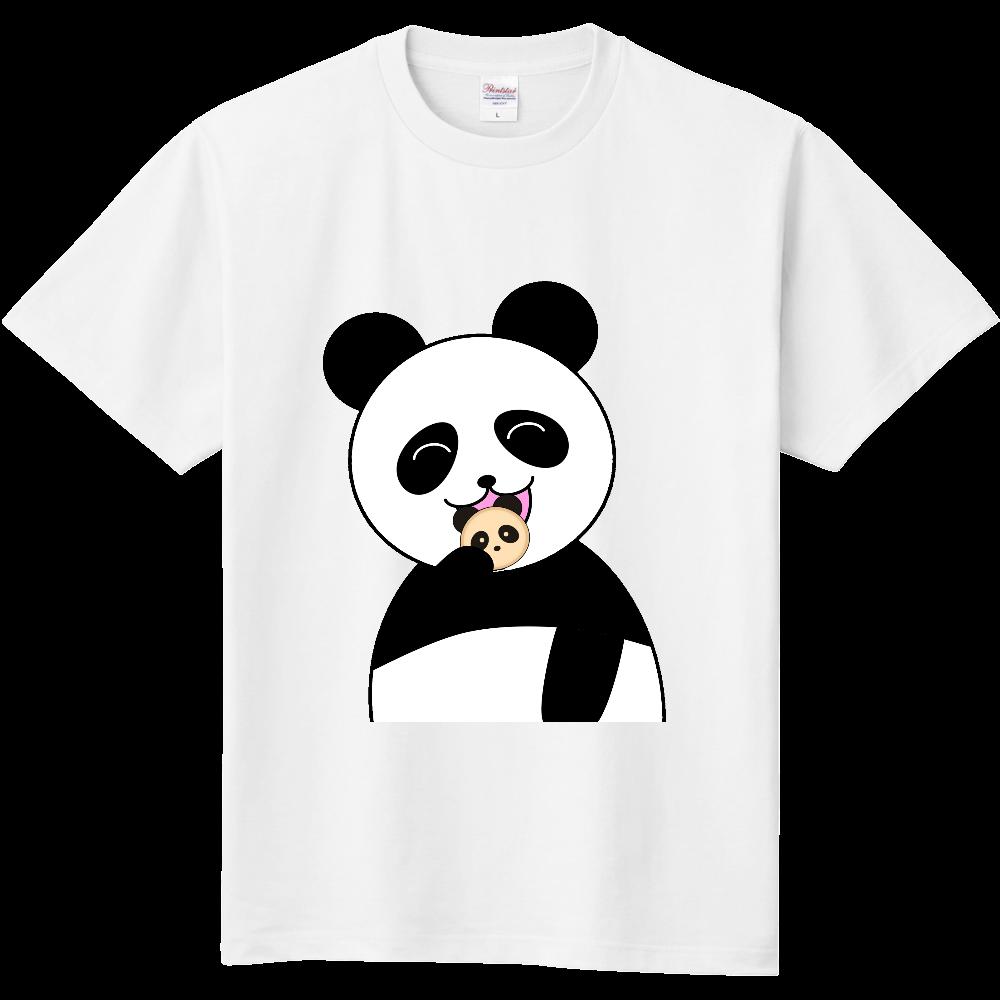 パンダパンを食べるパンダ 定番Tシャツ