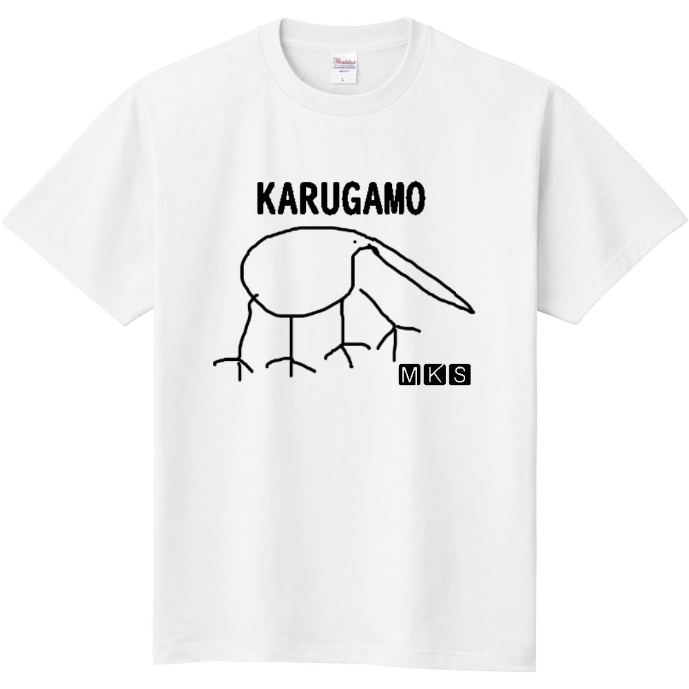 KARUGAMO 定番Tシャツ