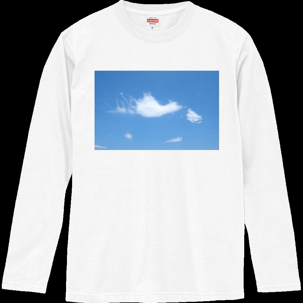 ハート雲 ロングスリーブTシャツ