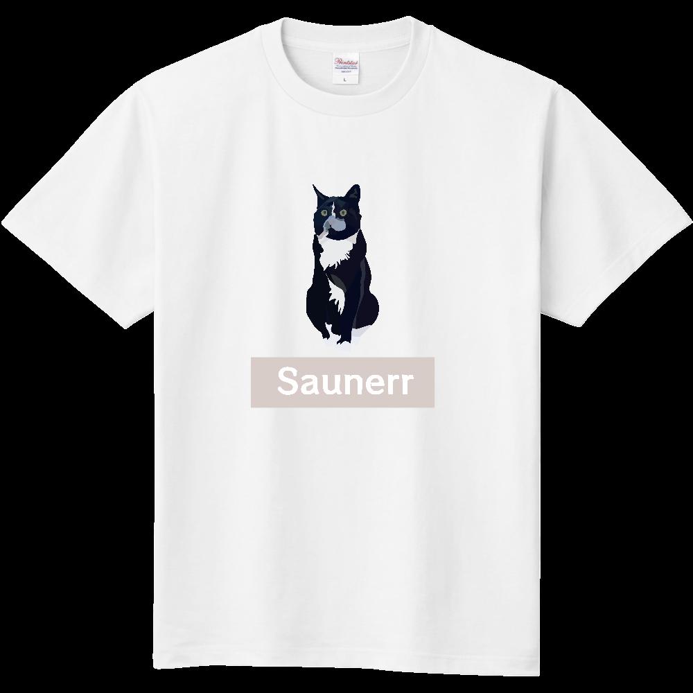 サウナー Tシャツ 猫  定番Tシャツ 定番Tシャツ