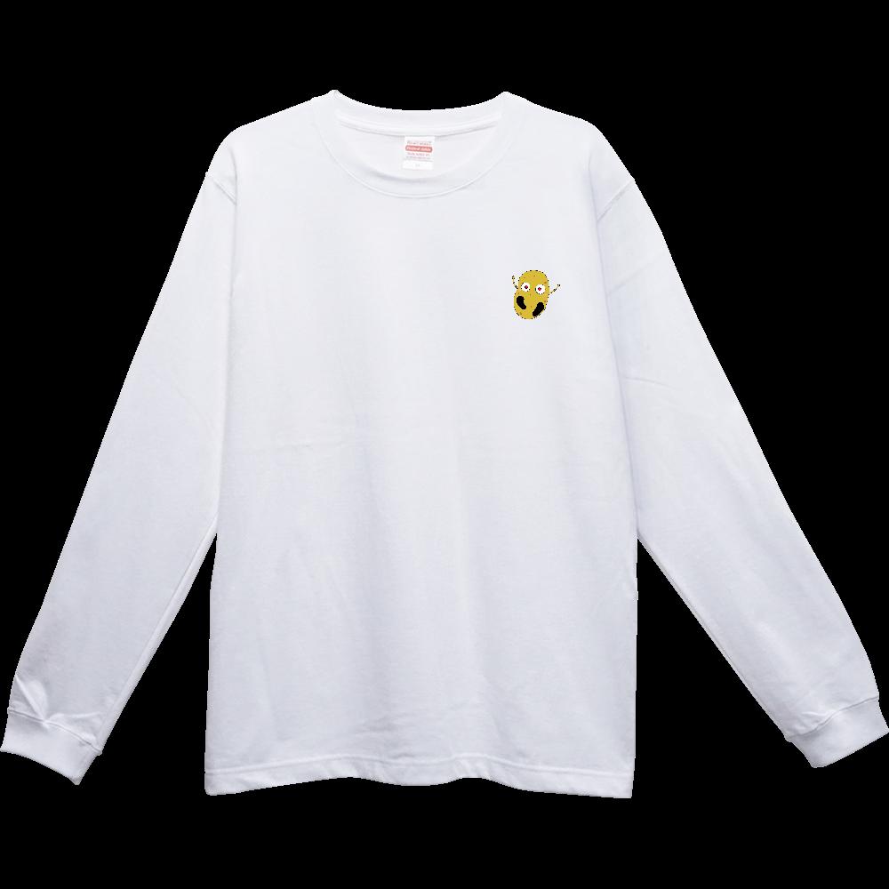 じゃがいもくんロングスリーブTシャツシリーズ ヘビーウェイトロングTシャツ