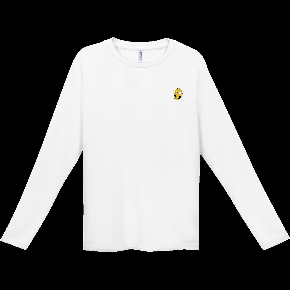 じゃがいもくんロングスリーブTシャツシリーズ インターロック ドライ長袖Tシャツ