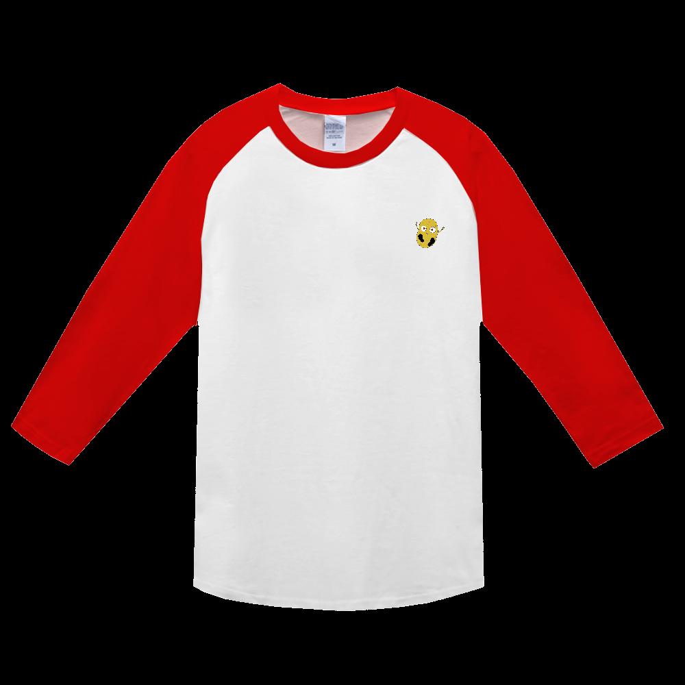 じゃがいもくんロングスリーブTシャツシリーズ ヘビーウェイトベースボールTシャツ