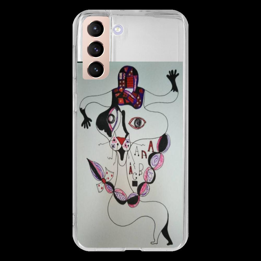 ●みつ編み猫● Galaxy S21+ 5G SC-54B/SCG10 TPUケース