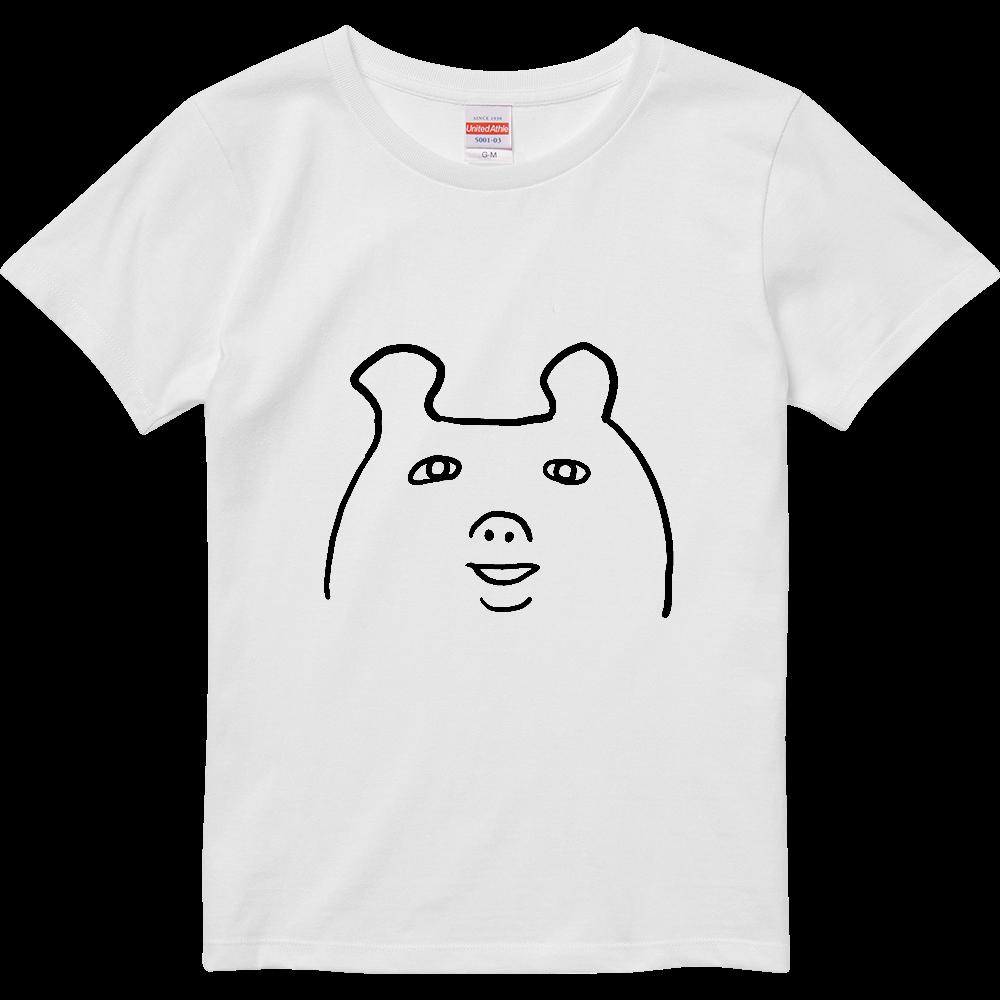とにかく変な生き物 ハイクオリティーTシャツ(ガールズ)