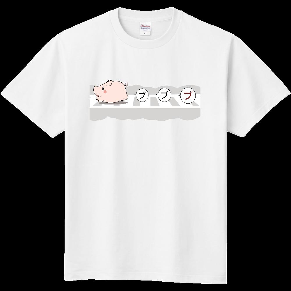 横断ぶた 定番Tシャツ