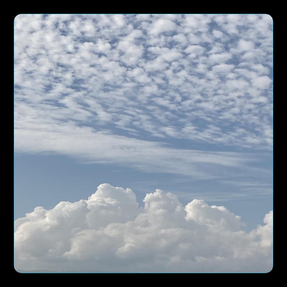 雲とソラ アクリルコースター(四角)