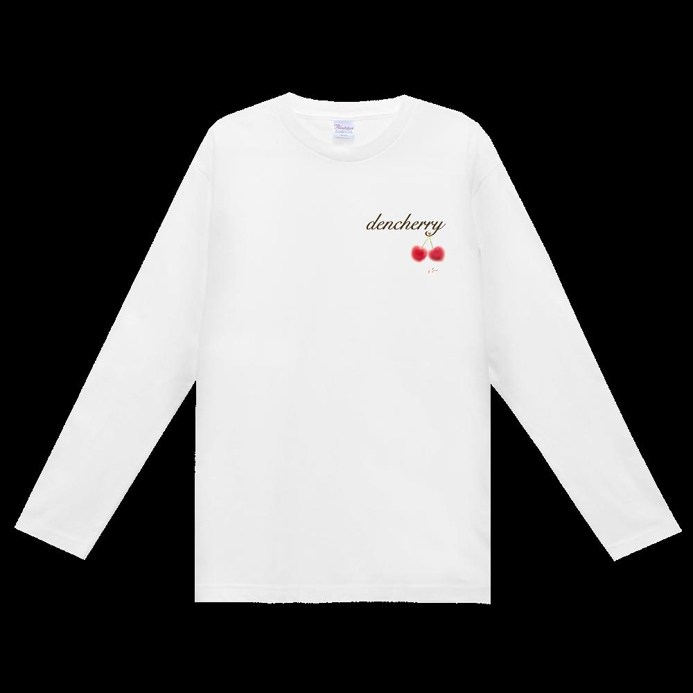でんちぇりーロンT ヘビーウェイト長袖Tシャツ