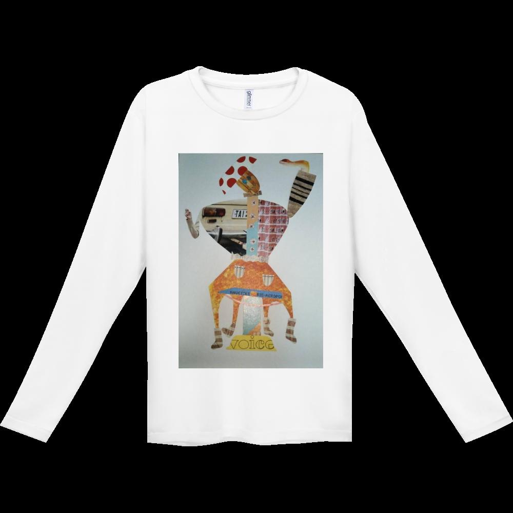 ●からくりの舞● インターロック ドライ長袖Tシャツ