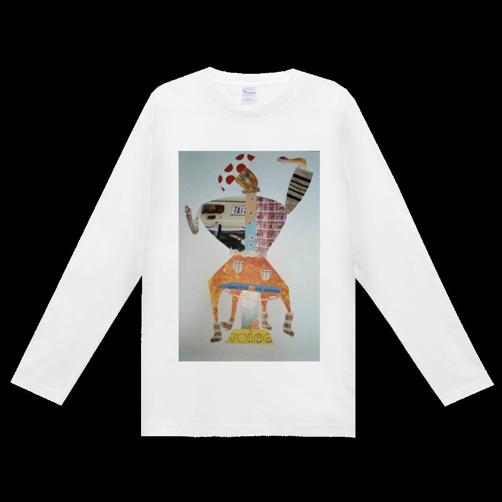 ●からくりの舞● ヘビーウェイト長袖Tシャツ