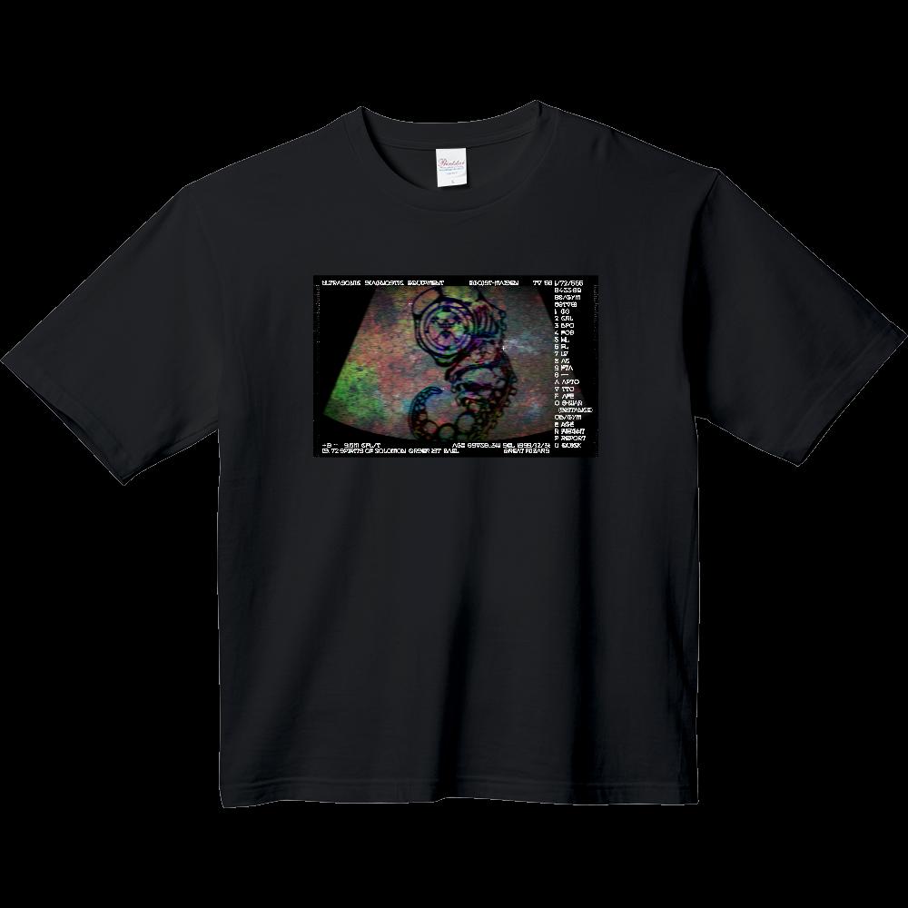 「悪魔の生まれた日」 ヘビーウェイト ビッグシルエットTシャツ