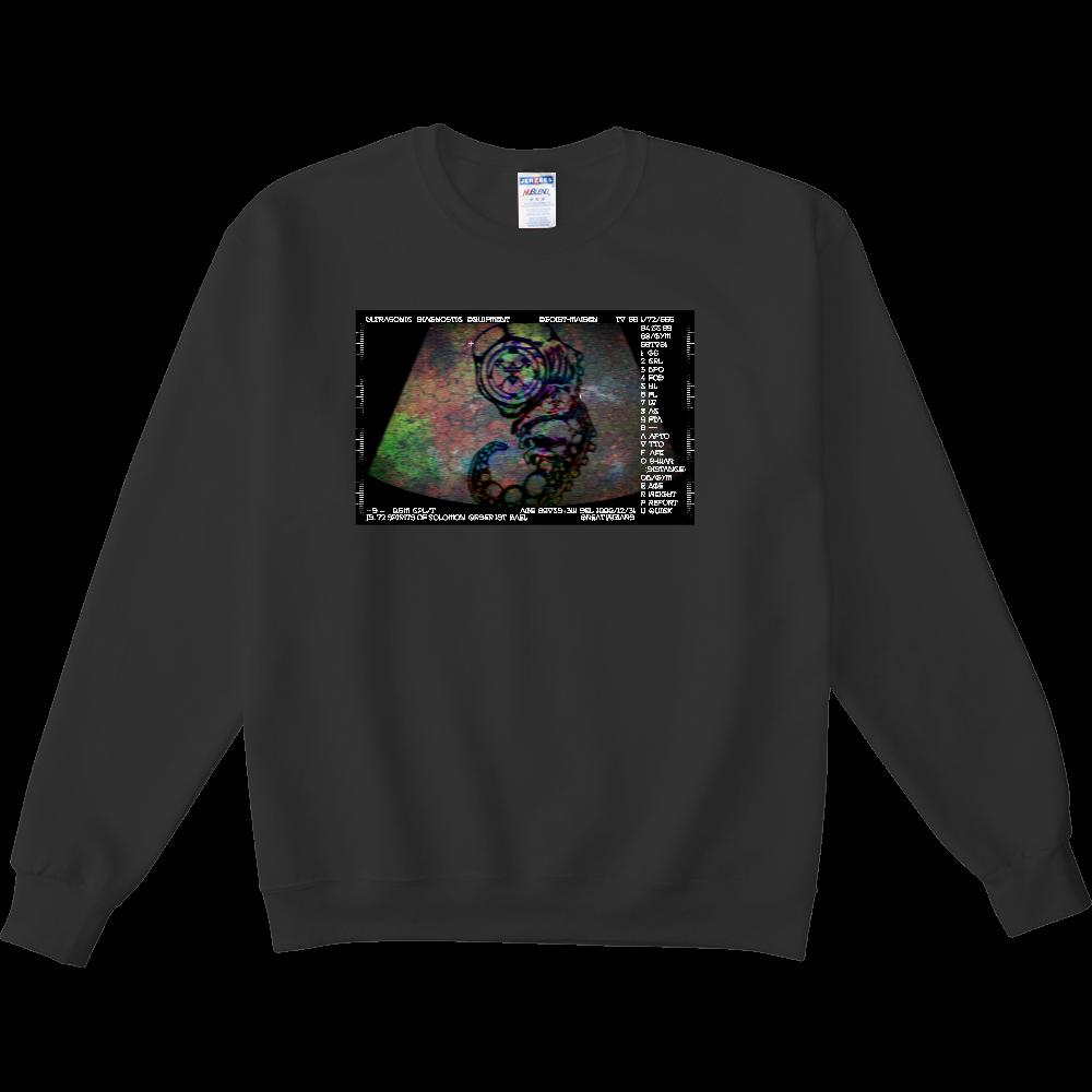「悪魔の生まれた日」 NUBLENDスウェットシャツ