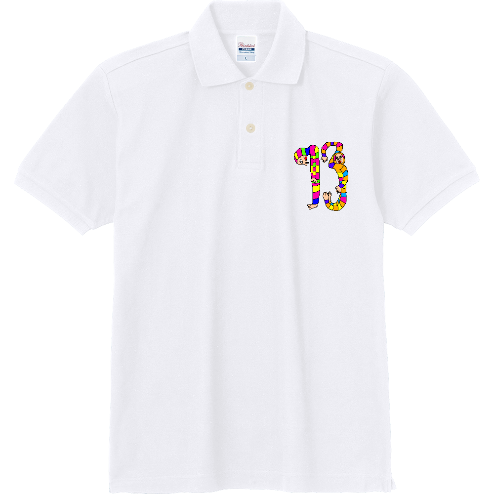 Happy No.13 定番ポロシャツ