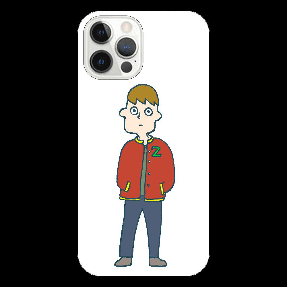 幽霊アメフト部員 iPhone12 Pro(透明)
