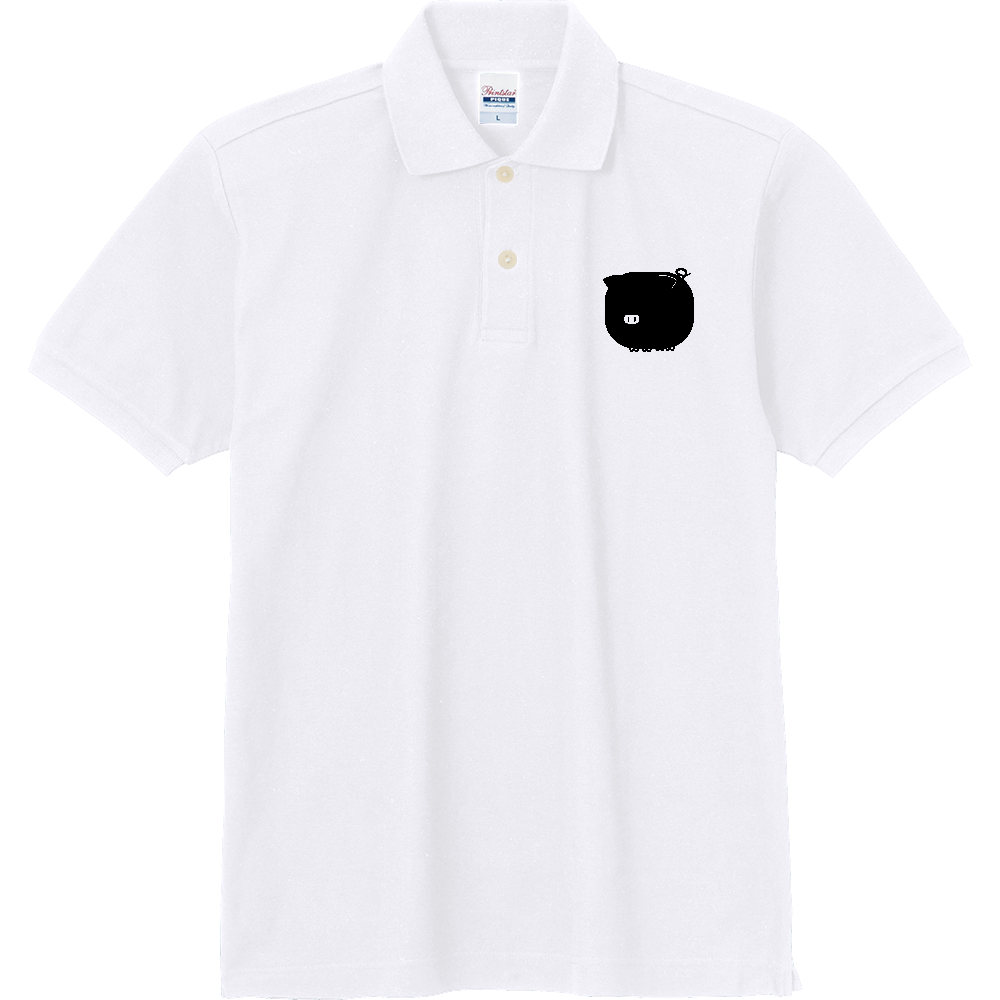 黒豚 定番ポロシャツ