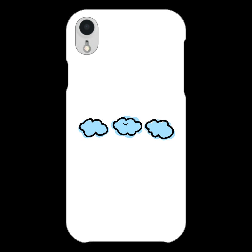 なぞだよ iPhoneXR(透明)