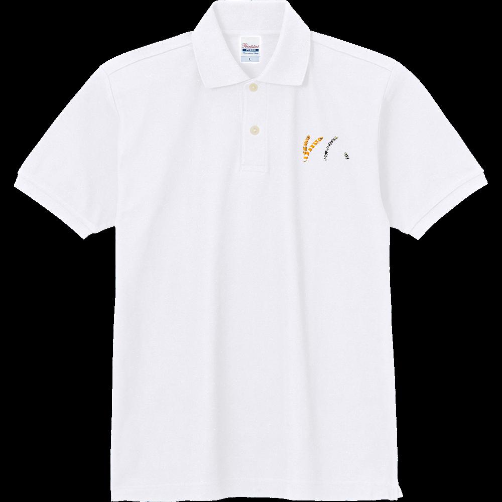 ニシキアナゴとチンアナゴ-01 定番ポロシャツ