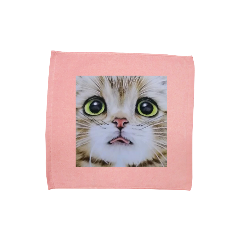ハンドタオル 猫舌 ハンドタオル