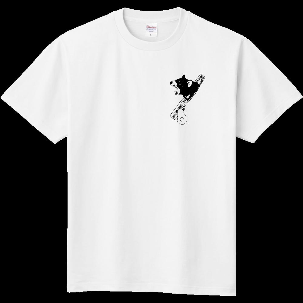 ファスナーからタスマニアデビル 定番Tシャツ