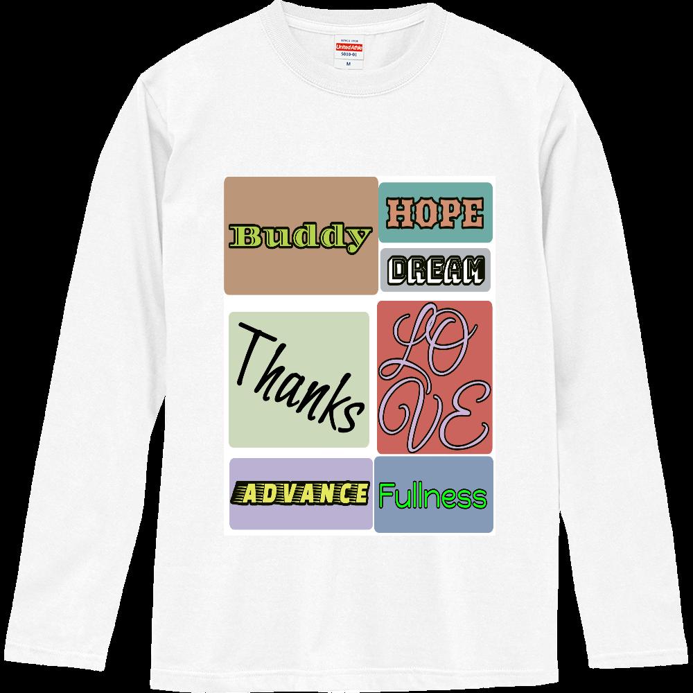 大切な言葉 ロングスリーブTシャツ