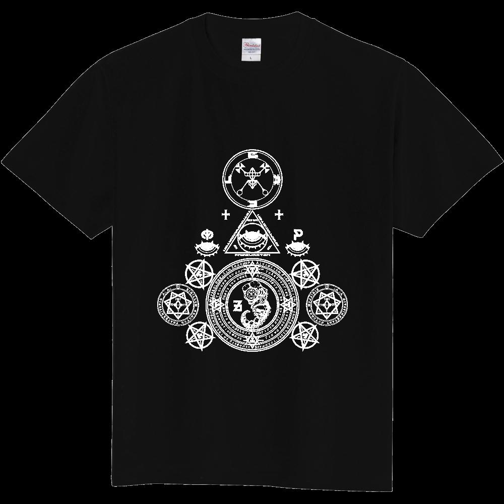 「悪魔降臨」白抜き 定番Tシャツ
