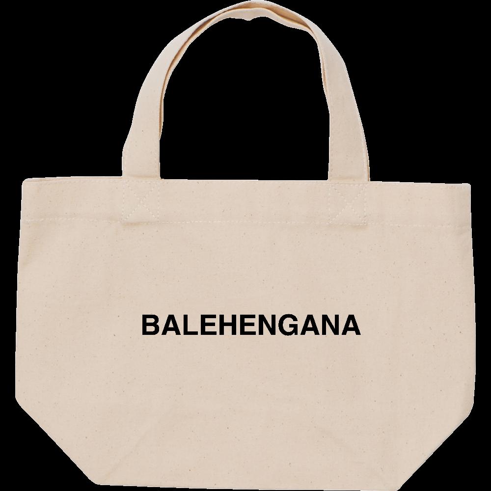 BALEHENGANA -バレヘンガナ ばれへんがな 黒ロゴ スタンダードキャンバストートバッグ(S)